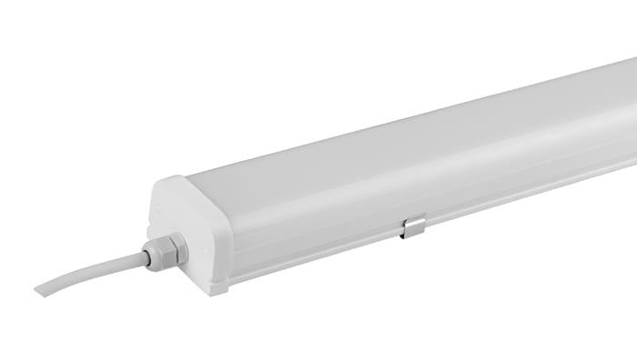 LED осв. тяло термопластик Т8, 18W, 6000K, Студена светлина, Водоустойчиво IP65, 220V-240V AC, 180°, SMD 2835
