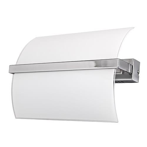 LED осв. тяло за стена 4x5W, 2700K, Хром, Топла светлина, Невлагозащитено