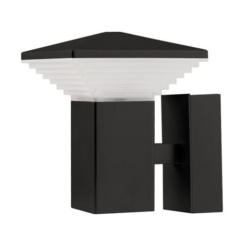 LED фасадно осв. тяло за стена 6W, 2700К, Куб, Графит, Топла светлина, Водоустойчиво IP65