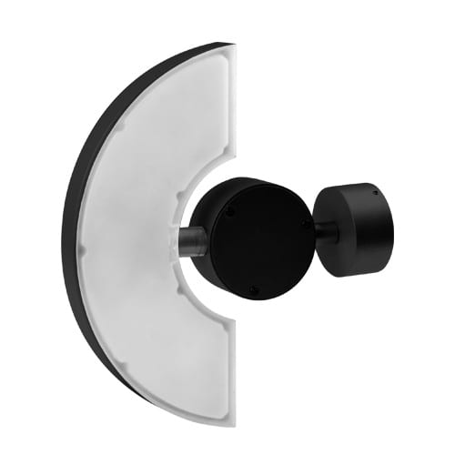 LED фасадно осв. тяло за стена 6W, 2700К, Подвижно, Графит, Топла светлина, Водоустойчиво IP65