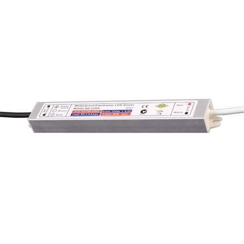 Захранване за светодиодна лента, 36W, 12V DC, Влагозащитено IP67