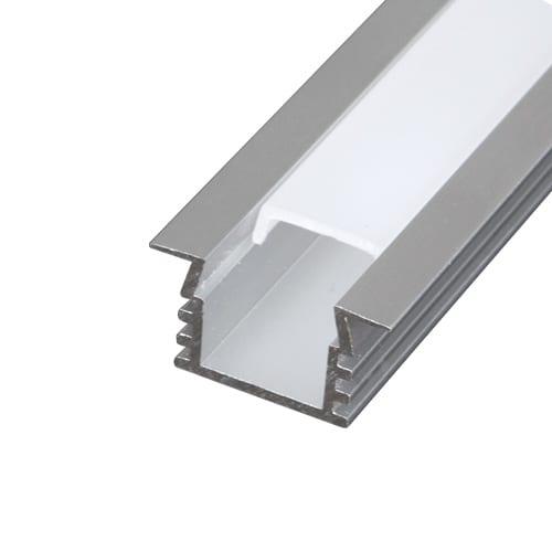 Алуминиев профил за LED лента, за вграждане-дълбок,2м