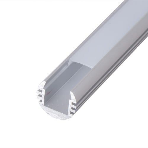 Алуминиев профил за LED лента, кръгъл, 2м