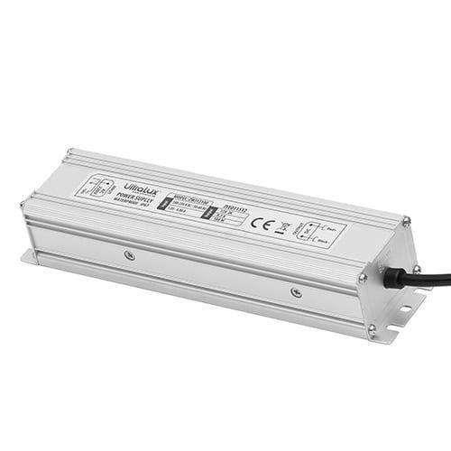 Захранване за светодиодна лента, 100W, 24V DC, Влагозащитено IP67