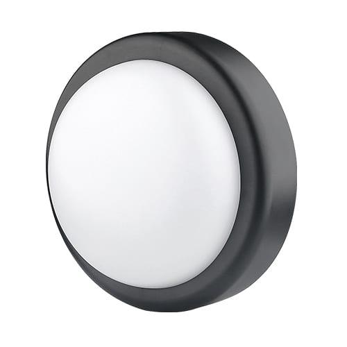 LED Влагозащитена плафониера 14W, 4200K, Черна, Неутрална светлина, 220V-240V AC, 120°,SMD 2835
