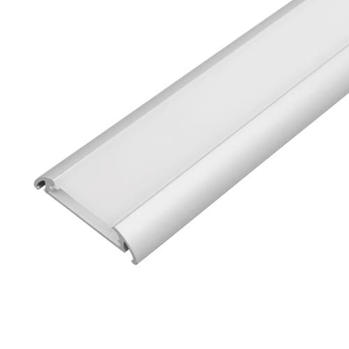 Алуминиев профил за LED лента за външен монтаж, широк 2м
