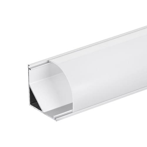 Алуминиев профил за LED лента, ъглов голям, 2м