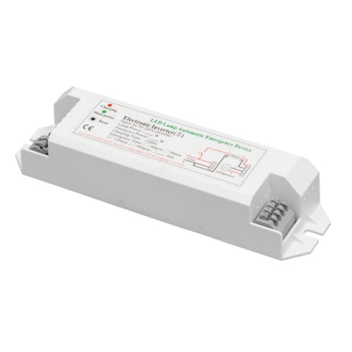 Захранващ авариен модул за LED осветление с батериен блок Li-ion 3.6V 2500mAh, 24W, 100-270V AC