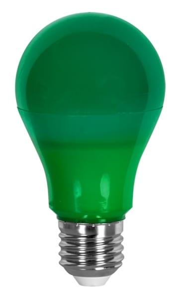 LED крушка / 6W / E27 / SMD 2835 / Зелена