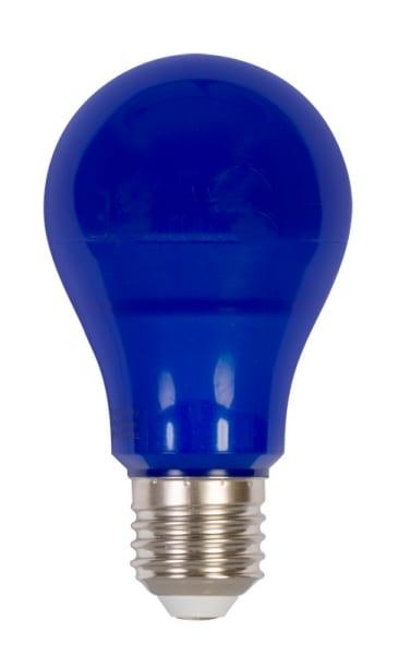 LED крушка / 6W / E27 / SMD 2835 / Синя