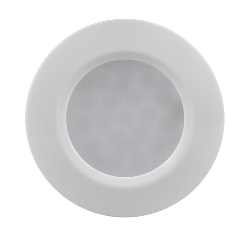 Мебелна светодиодна луна кръг, 1.5W, 4000K, Бяла, 12V DC, 120°, Неутрална светлина, SMD 3014