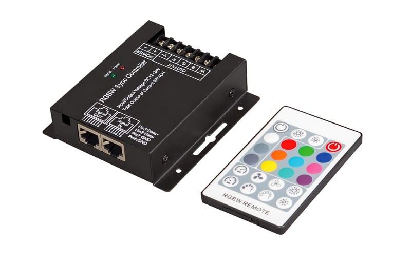 RF контролер за RGBW LED осветление 288W(12V), 24А, 12-24V DC