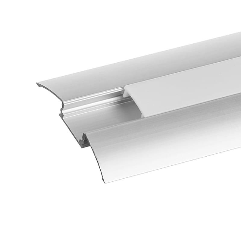 Алуминиев профил за LED лента, преходен, 2м
