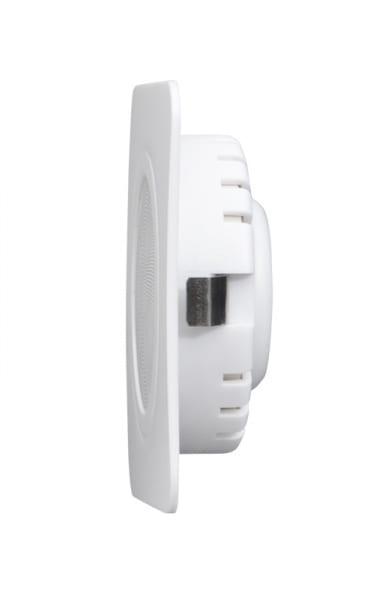 LED мебелна луна за вграждане квадрат, 3W, 4200K, 12V DC, IP44, Бяла, 60°, Неутрална светлина, SMD 2835