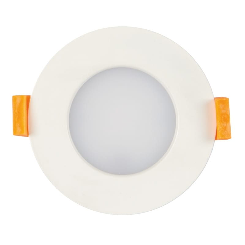 LED луна за вграждане 7W, 4000K, IP44, 220V-240V AC, 120°, Неутрална светлина, SMD 2835