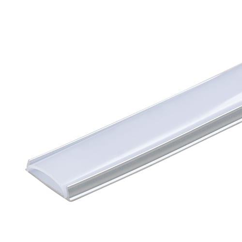 Алуминиев профил за LED лента, гъвкав 2м