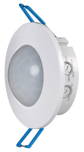 Сензор за движение за вграждане/открит монтаж, 3м, 360°, 220V-240V AC, 800W/400W