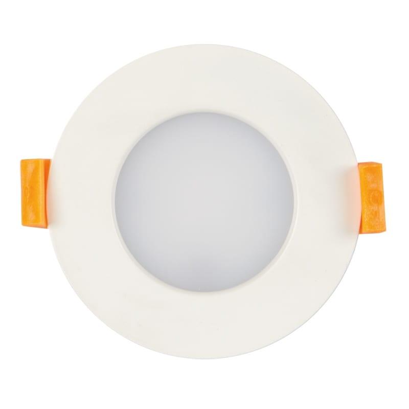 LED луна за вграждане 7W, 3000K, IP44, 220V-240V AC, 120°, Топла светлина, SMD 2835
