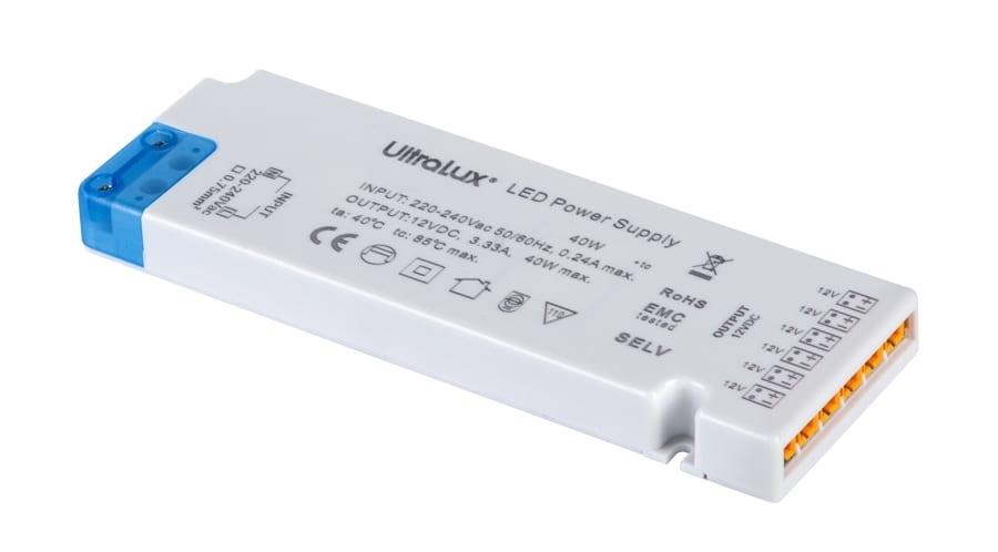 Захранване за мебелно светодиодно осветление 6 порта, 36W, 12V DC