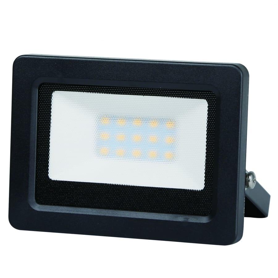 LED SLIM прожектор 10W, 4200K, 220V-240V AC, Неутрална светлина, Влагозащитен IP65, 120°, SMD 2835