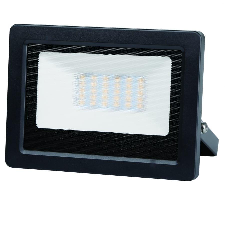 LED SLIM прожектор 20W, 6000K, 220V-240V AC, Студена светлина, Влагозащитен IP65, 120°, SMD 2835