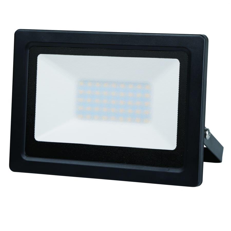 LED SLIM прожектор 50W, 4200K, 220V-240V AC, Неутрална светлина, Влагозащитен IP65, 120°, SMD 2835