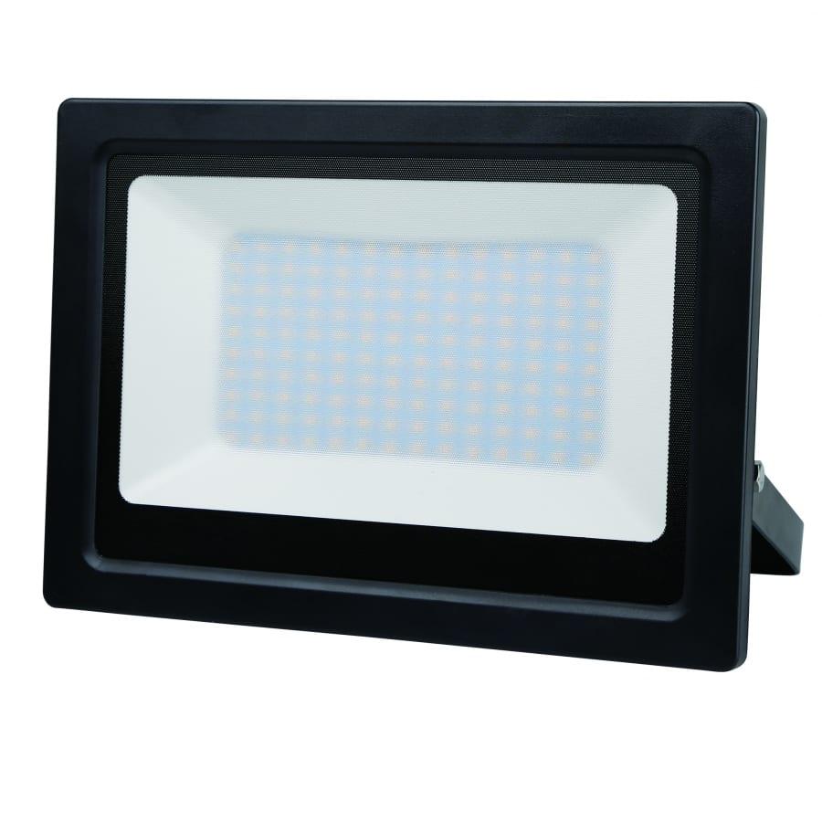 LED SLIM прожектор 100W, 6000K, 220V-240V AC, Студена светлина, Влагозащитен IP65, 120°, SMD 2835