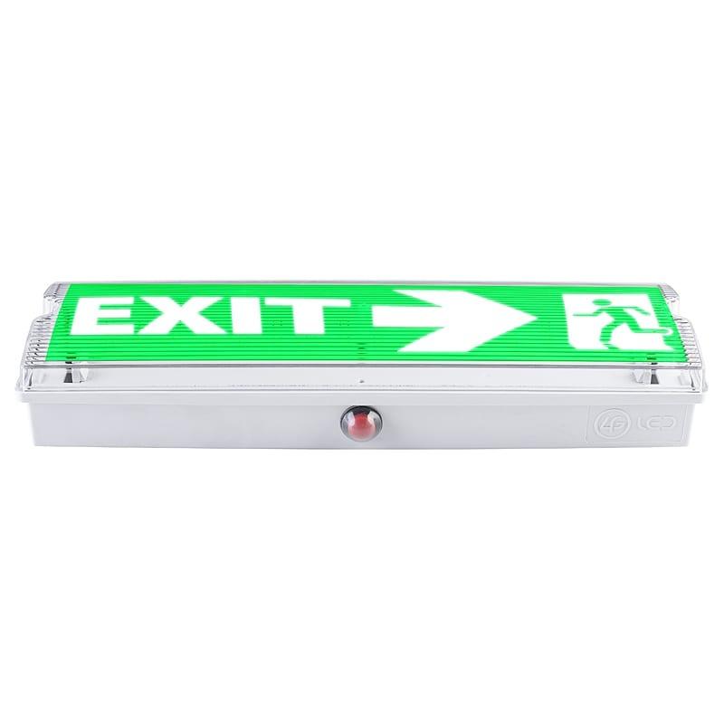 LED Аварийно осветително тяло с вградена батерия 1.5mAh/3.6V, 3W, 6500K, 220V-240V AC, Студена светлина, Водоустойчиво, 120°, SMD 2835