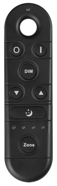 Smart 2.4G RF дистанционно управление за LED осветление, 4 зони