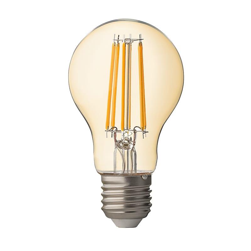 LED крушка / Димиращ филамент / 7.5W / E27