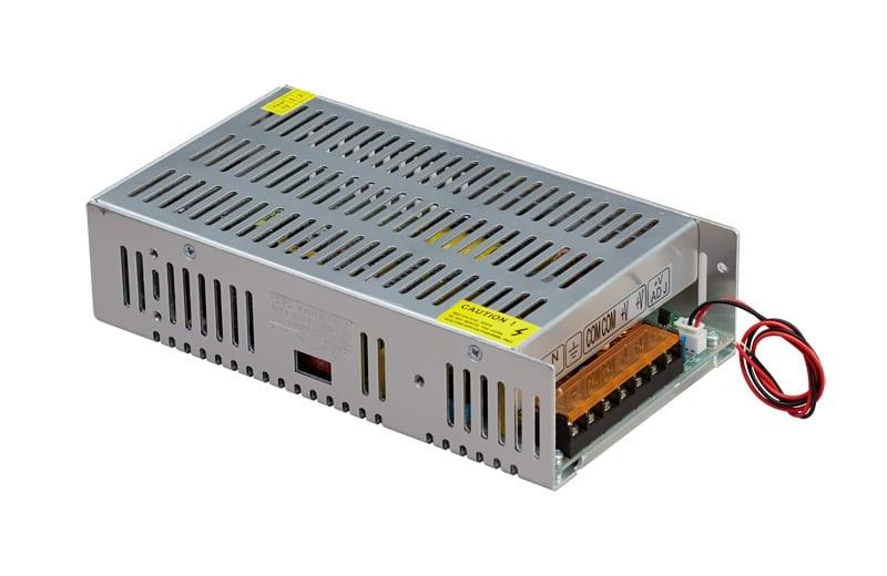 Димиращо захранване 0-10V, Невлагозащитено, 300W, 12V DC, 25А