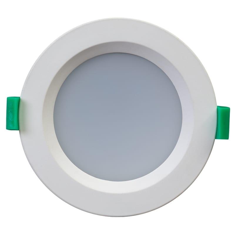 LED луна за вграждане димираща, IP44, 10W,3000K/4200K/6000K, 220V-240V AC, 120°, SMD 2835