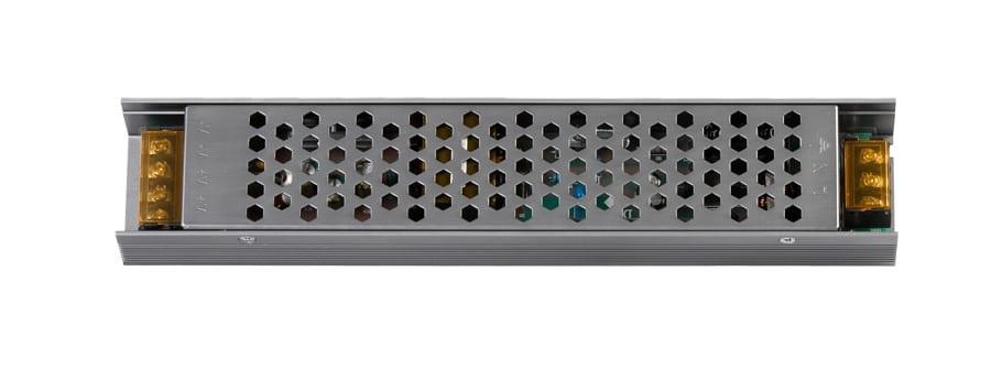 Захранване за светодиодна лента, Невлагозащитено, Слим, 100W, 12V DC