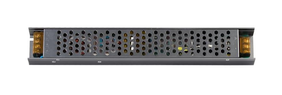 Захранване за светодиодна лента, Невлагозащитено , Слим, 200W 12V DC