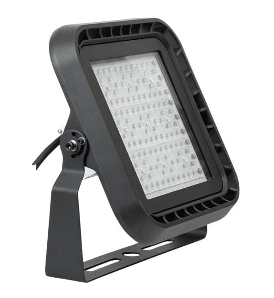 Професионален LED прожектор димиращ 1-10V DC, 100W, 5000K, 85°/150°, IP66, 220V-240V AC, SMD 3030