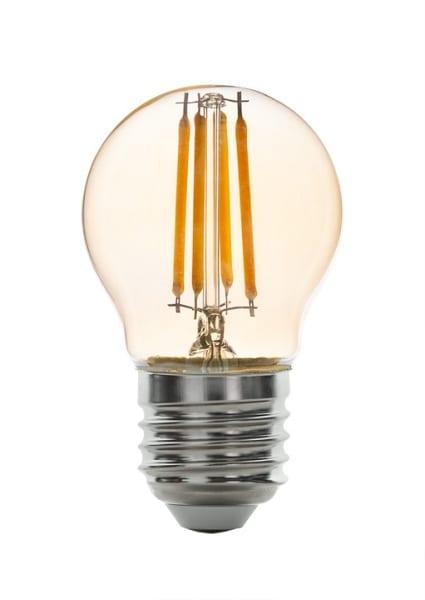 LED крушка / Димиращ филамент / 4W / E27