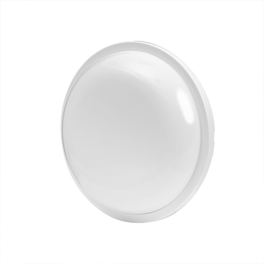 LED Влагозащитена плафониера 24W, 4200K, Kръг, Бяла, 220V-240V AC, IP54, SMD 2835