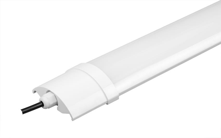 LED линейно осветително тяло T8, 18W, 4200K, 60см, Неутрална светлина, Водоустойчиво IP54, 220V-240V AC, 120°, SMD 2835