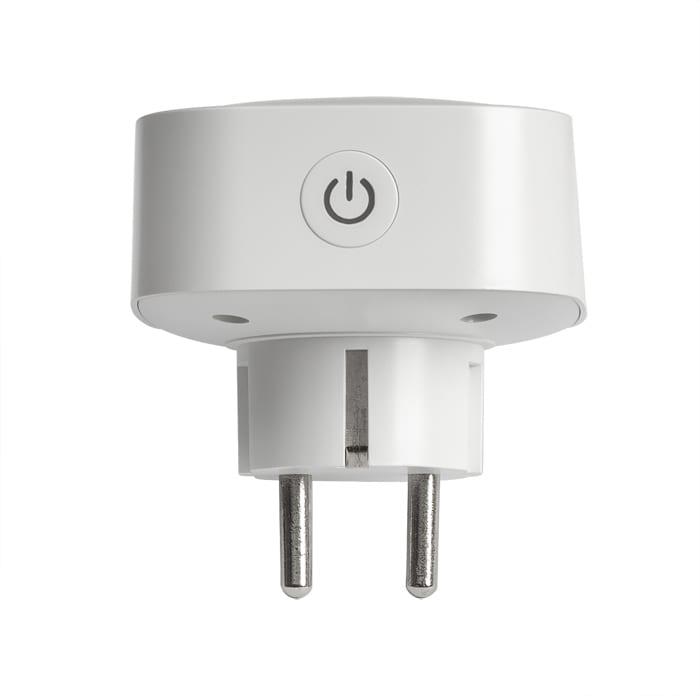 WiFi Smart контакт. единичен 3500W, 16А, 220V-240V AC