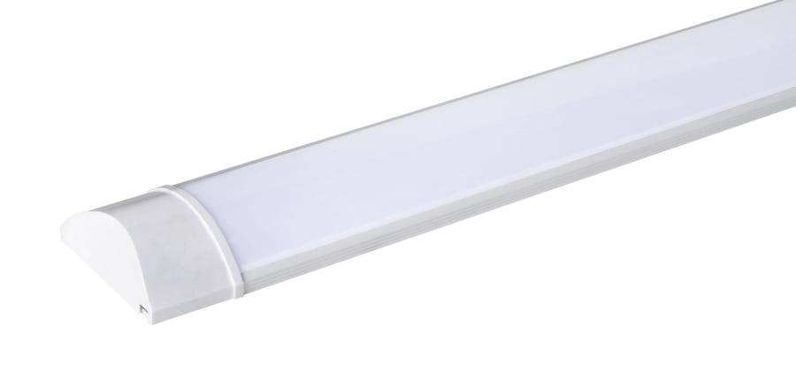 LED слим линейно осв. тяло Т8, 18W, 6000K, 60см, Студена светлина, Неводоустойчиво, 220V-240V AC,120°, SMD 2836