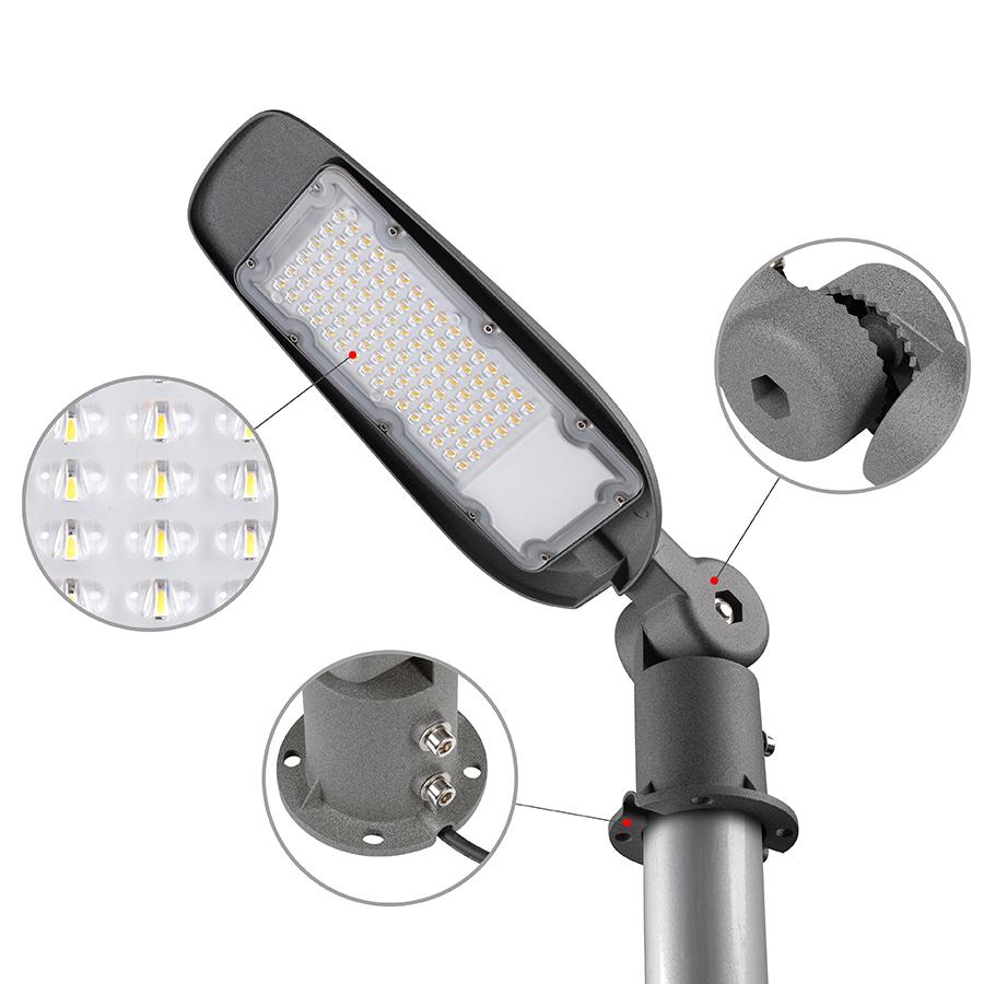 LED тяло за улично осветление 4200K, 220V, IP65
