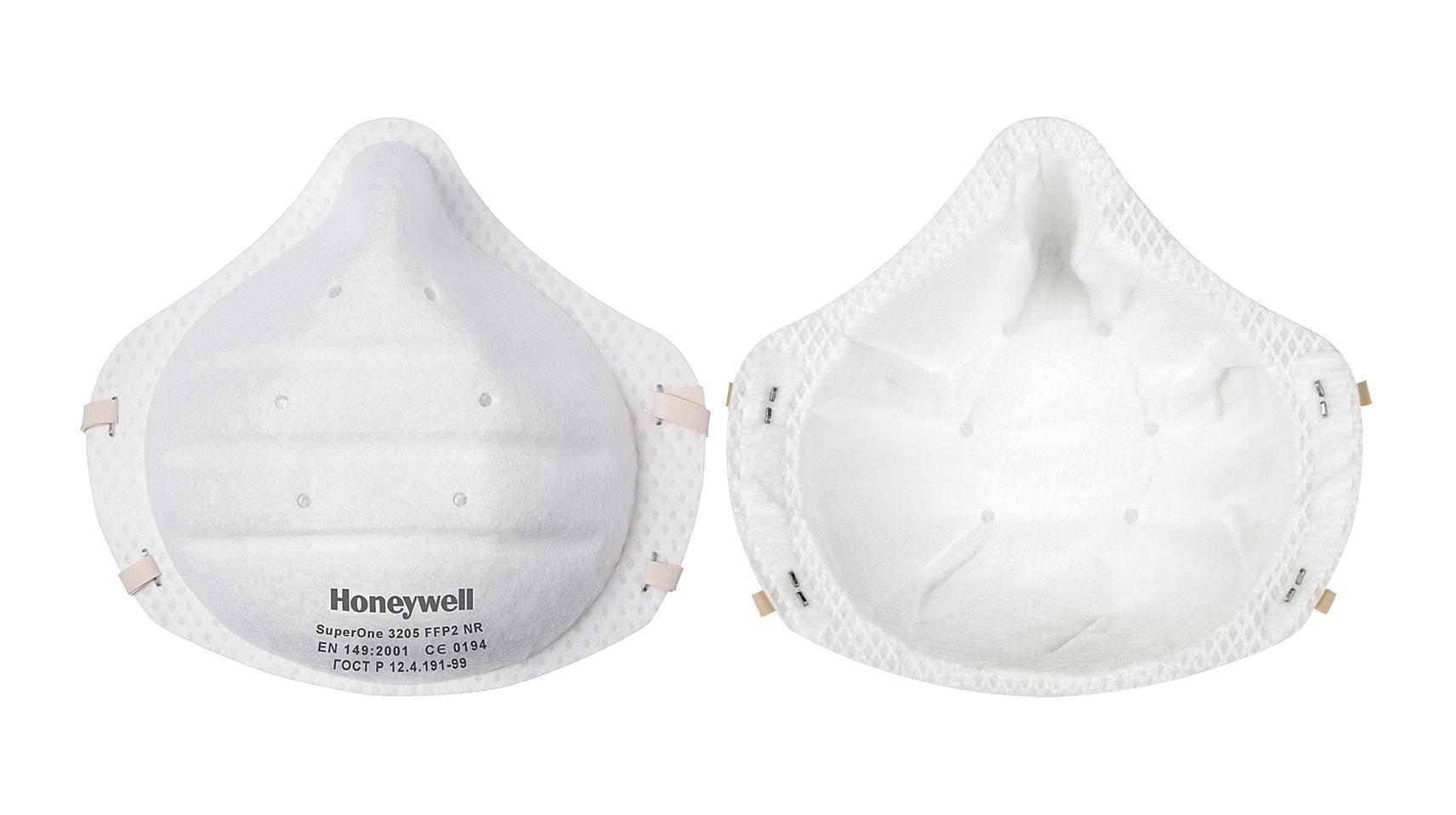 Респиратор за еднократна употреба Honeywell SuperOne 3205 FFP2 - 30 бр.