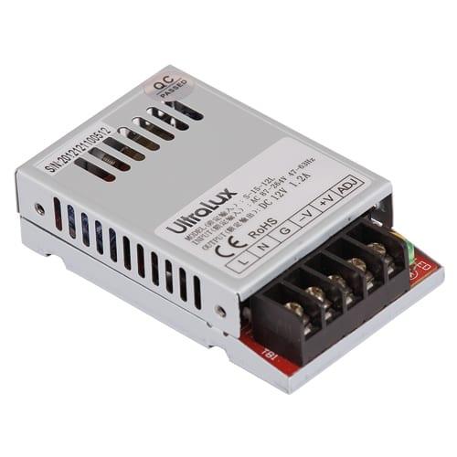 Захранване за светодиодна лента, Невлагозащитено, 15W, 12V DC