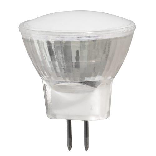 LED луничка / 2W / 2700K / MR11 / 12V DC / Топла светлина / SMD 2835