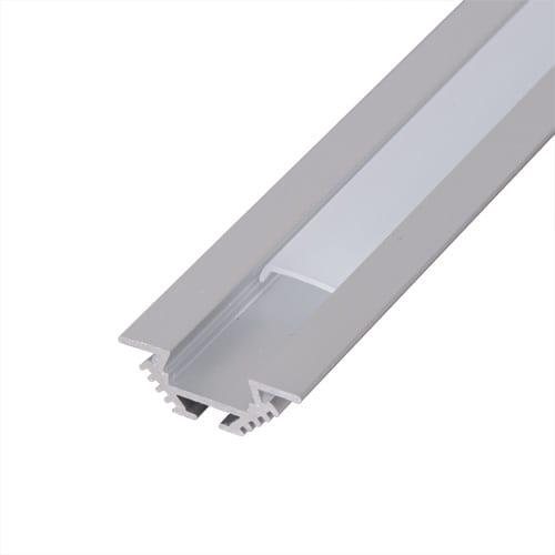 Алуминиев профил за LED лента, универсален,2м