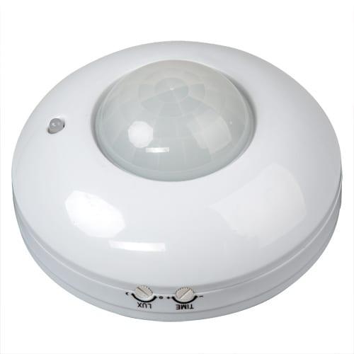 Сензор за движение, за външен монтаж, 6м,  220V-240V AC, 360°, 1200W