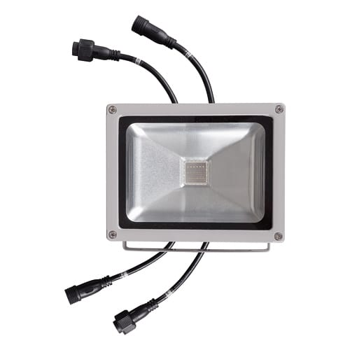 DMX RGB LED прожектор 20W, RGB, 24V DC, IP65, 120°, COB