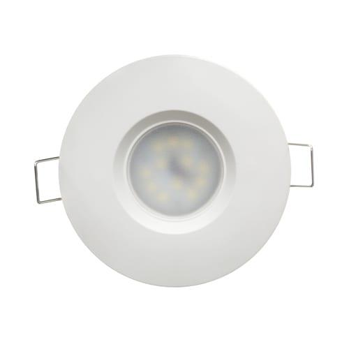 LED луна за вграждане 6.5W, 4200K, IP44, 220V-240V AC, 120°, Неутрална светлина, Бяла, SMD 2835