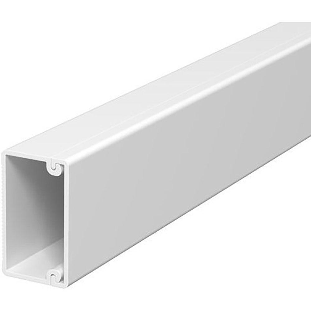 Кабелен канал 60x40, Бял, 2м