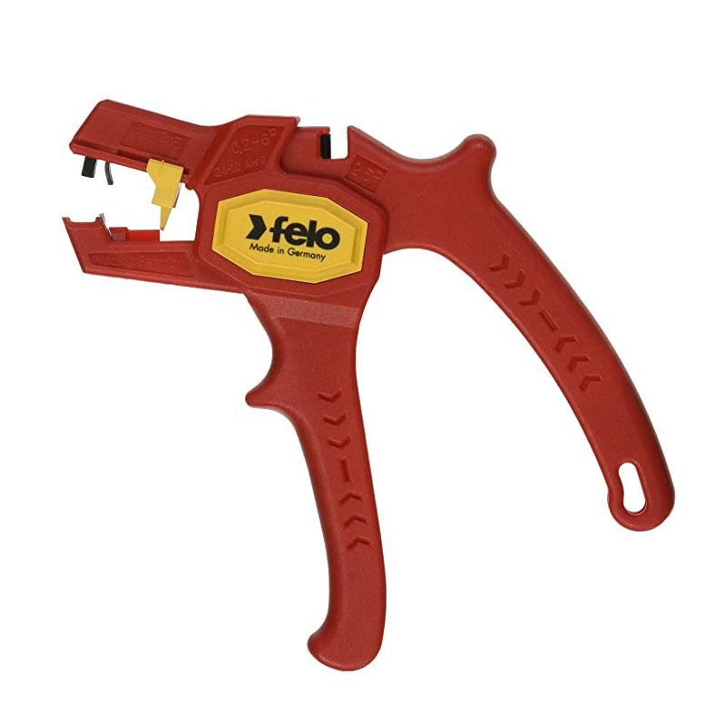 Автоматични клещи за сваляне на изолация FELO, 0,2-6,0 мм²